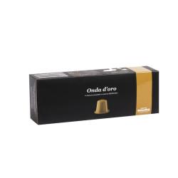 Caffe Mauro Onda D'Oro Nespresso система 10 бр. Кафе капсули