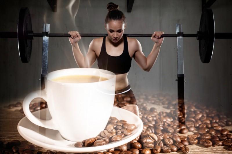 Кафе се пие за отслабване преди тренировка и не веднага след спортуване